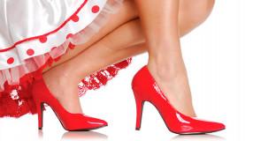 Дань моде: туфли на высоком каблуке