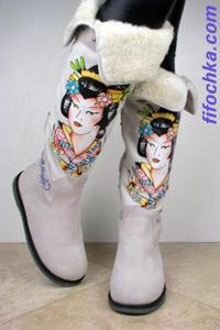 Зимняя обувь из коллекции Ed Hardy
