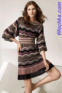 Модные платья из коллекции Missoni