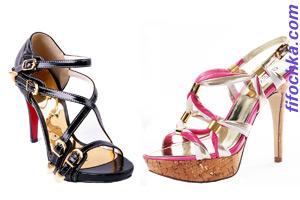 Обувь от Dior